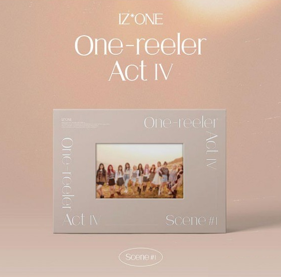 IZ*ONE Mini Album Vol. 4 - One-Reeler  A C T Ⅳ - [Preventa]