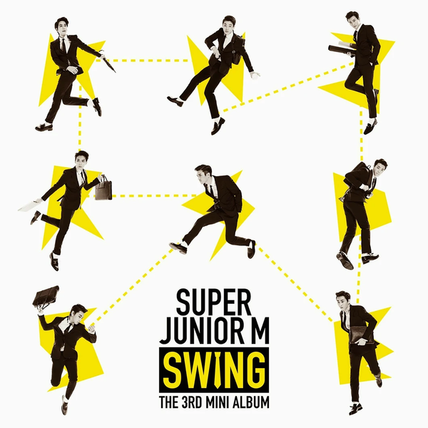 Super Junior M Mini Album Vol. 3 - Swing (Korea Version)