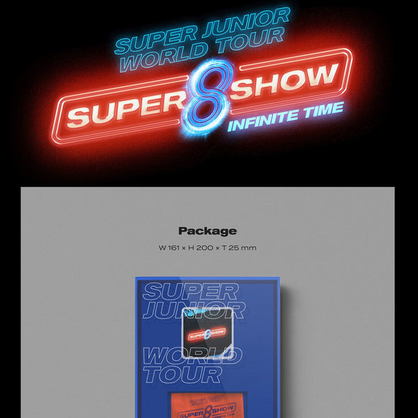 Super Junior - WORLD TOUR - SUPER SHOW 8 : INFINITE TIME (Kit Video) [PREVENTA]