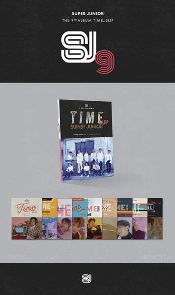 Super Junior - Time_Slip (Pack)