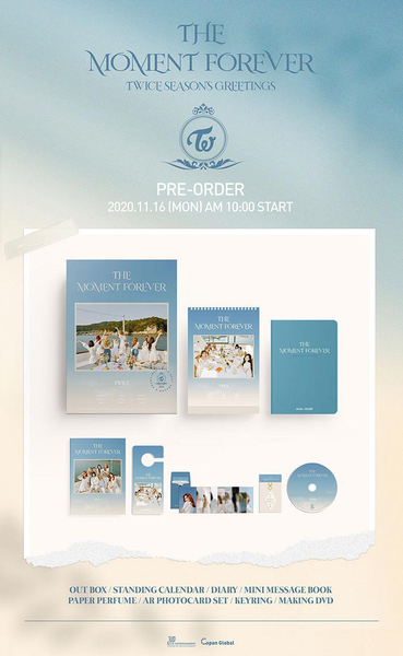 Twice 2021 Season's Greetings - [Preventa]
