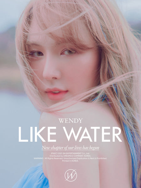 WENDY Mini Album Vol. 1 - Like Water