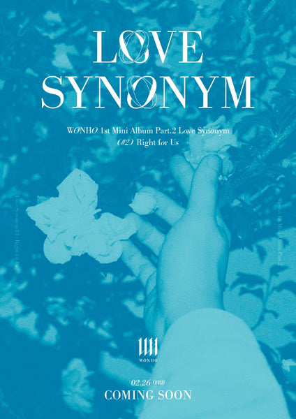 Wonho Mini Album Vol. 1 - LOVE SYNONYM 2. Right For Us