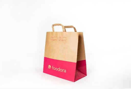 Foodora sustainable paper bags