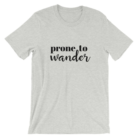 Prone to Wander Short Sleeve Tee