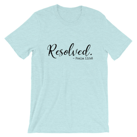 Resolved Short Sleeve Tee