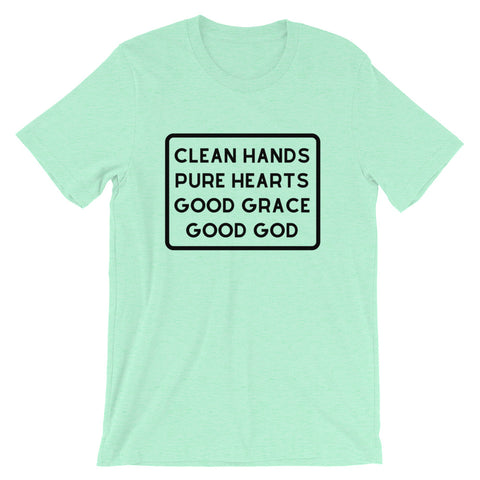 Clean Hands Short Sleeve Tee
