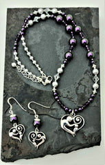 mother-child-heart-with-iridescent-purple-silver-necklace-earrings