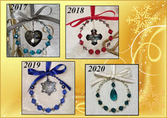 2017-2020 Crystal Ornament Collection