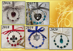 2016-2017 Crystal Ornament Collection
