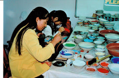 china cloisonne factory