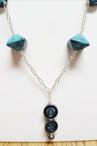 Aqua-Octahedron-Ceramic-Necklace