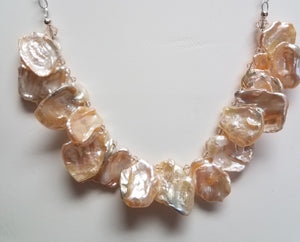 Silk-Keshi-Cornflake-Pearls-Necklace-Swarovski-Crystals