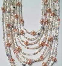 Swarovski-Crystals-Pearls-Miyuki-Seed-Beads-Necklace-Rose-Peach-Drape