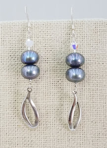 freshwater-pearls-pewter-Swarovski-crystals-sterling-silver-earrings