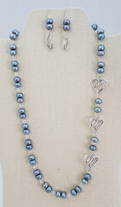 freshwater-pearls-pewter-Swarovski-crystals-sterling-silver-hearts-necklace-earrings