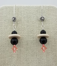 swarovski-crystal-pearl-black-rose-peach-ceramic-discs-sterling-silver-earrings