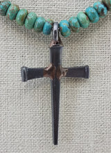 Horseshoe Nail Cross