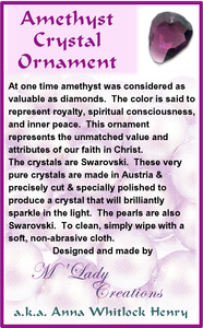 Swarovski-Crystal-Rock-Ornament-grey-amethyst-silver