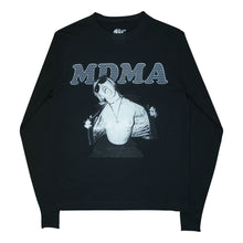 Load image into Gallery viewer, MDMA Flashing Miley Cyrus Long Sleeve Black