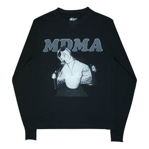MDMA Flashing Miley Cyrus Long Sleeve Bone
