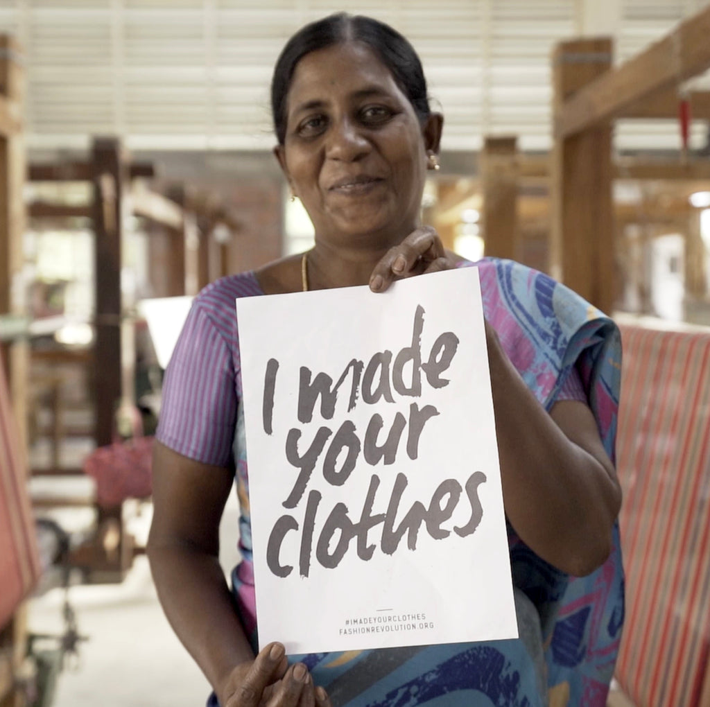 Fashion Revolution Week 2020 - #whomademyclothes