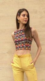 THE CROSS SPEAR CROP TOP - AED 399