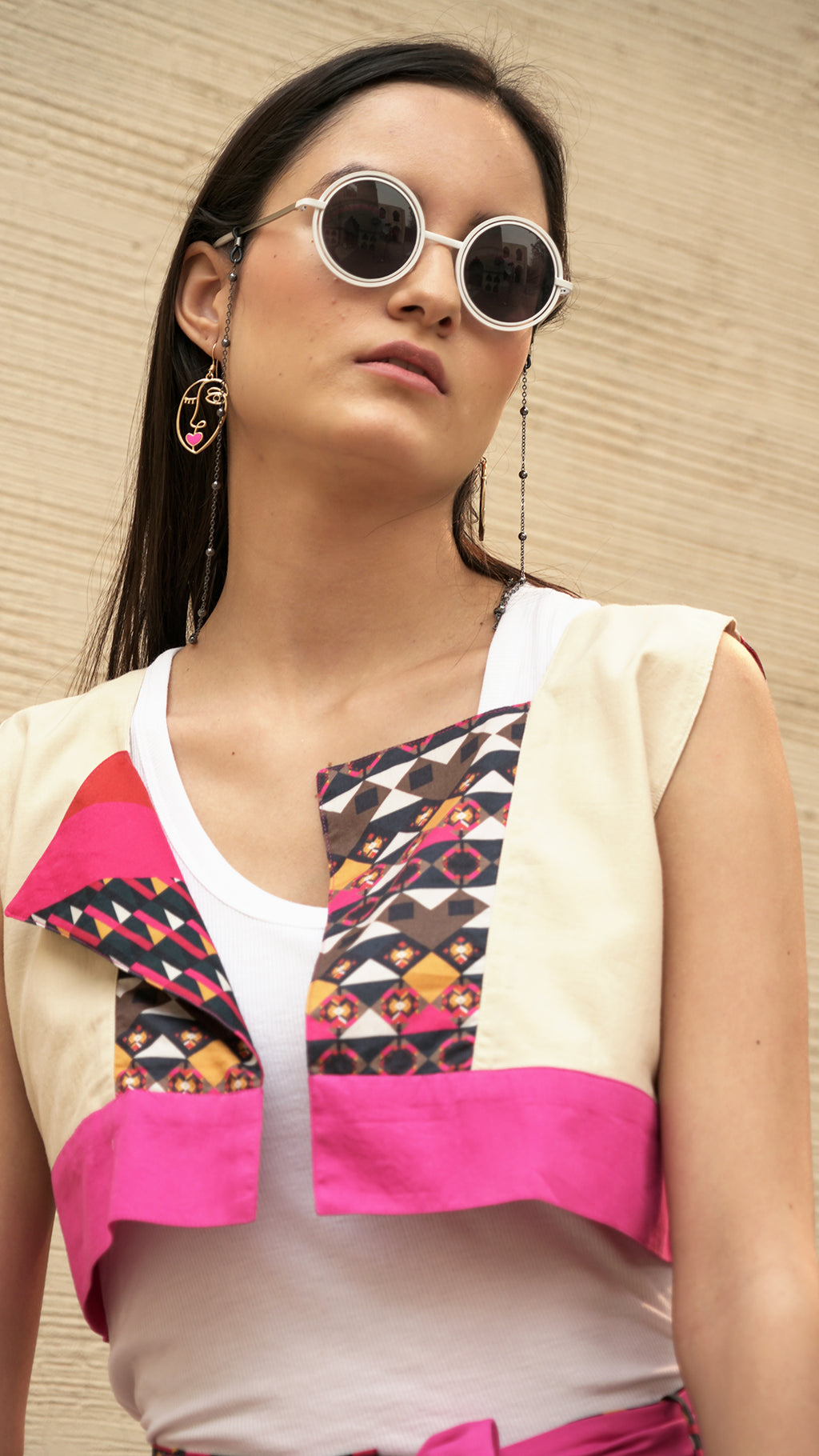 THE REVERSIBLE BRIDLE VEST - AED 249