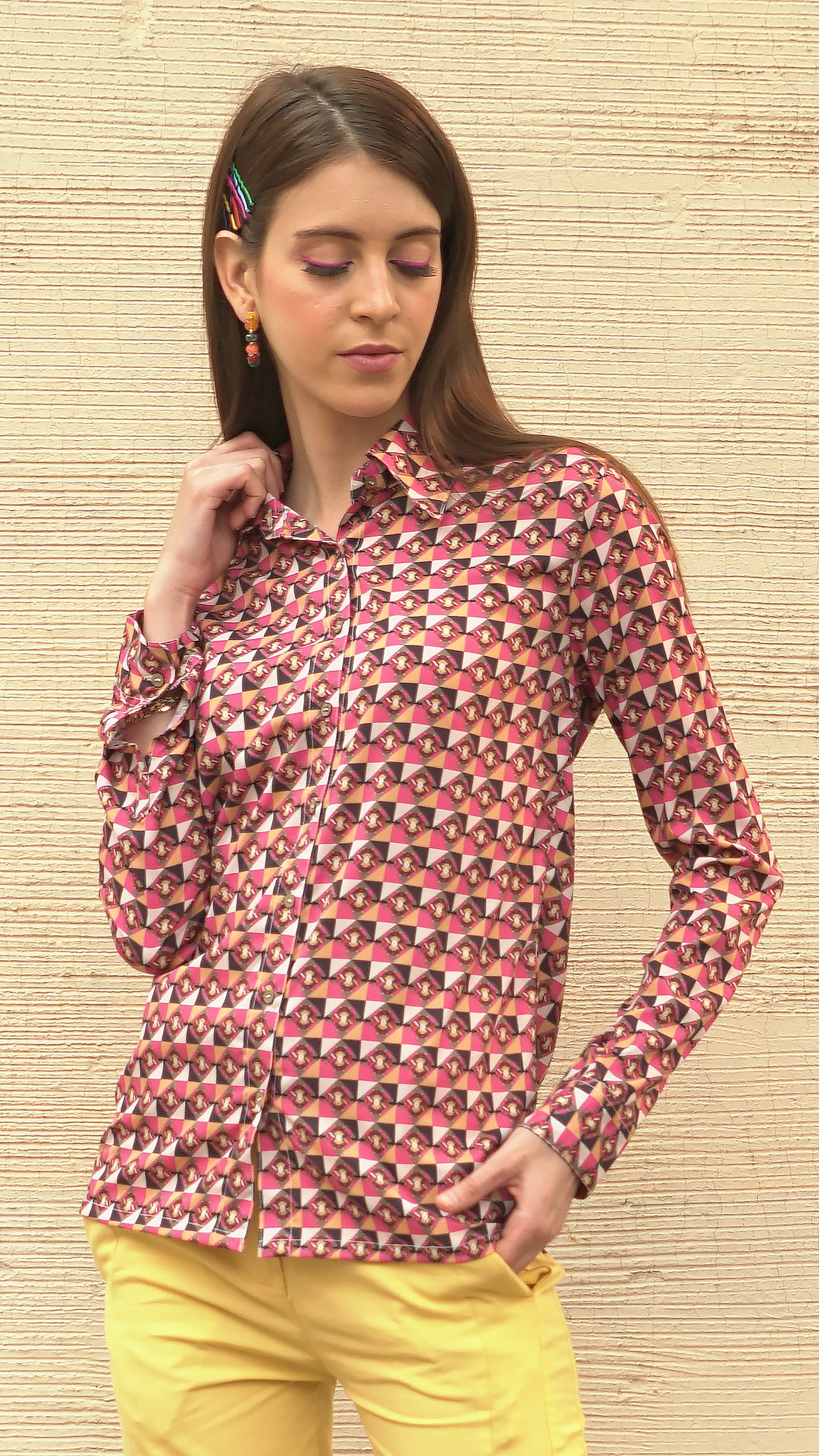 R-PET SIGNATURE PATANG SHIRT - AED 499