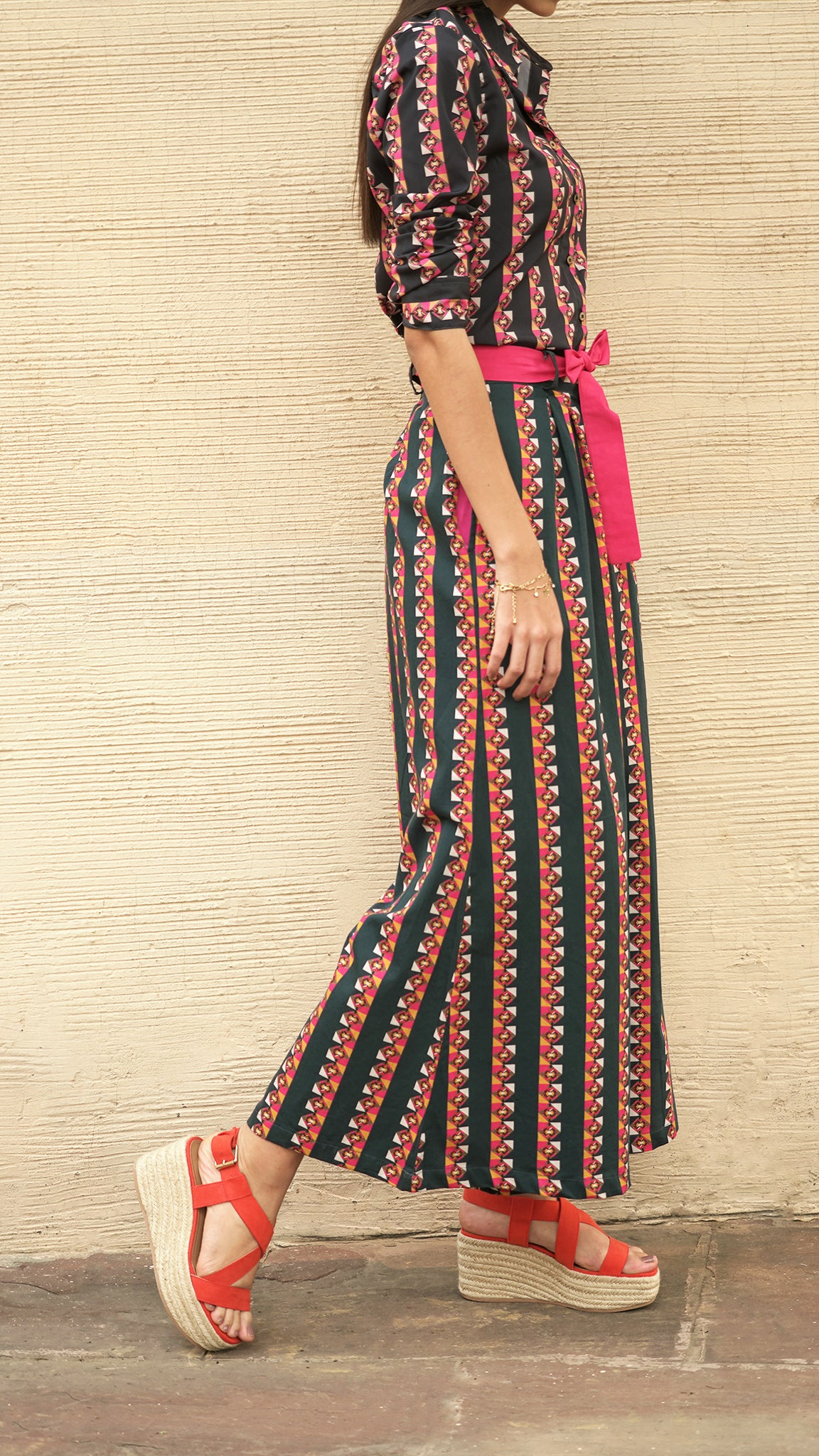 THE TRAILING STRIPES PALAZZOS - AED 499