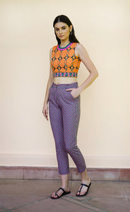 SMART CROPPED PANTS