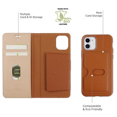 iPhone 11: Leather Eco Folio - Jumpca1