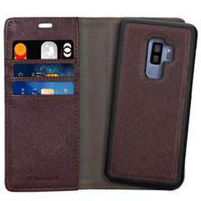 Samsung Galaxy S9+: 2 in 1 Wallet Case - Jumpca1