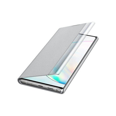 Samsung Galaxy Note 10+: Clear View Cover - Jumpca1