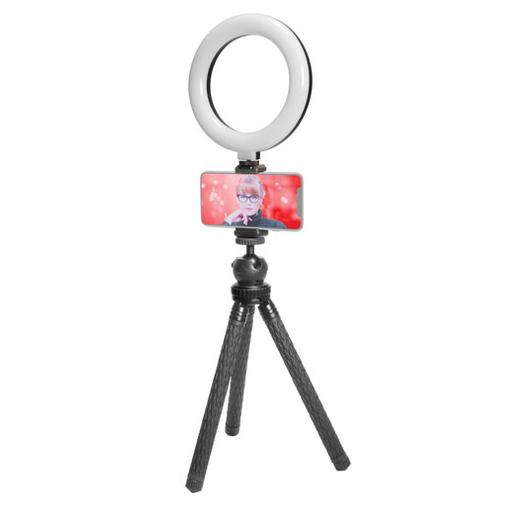 "6"" LED Ring Light VLOG Kit - Jumpca1"