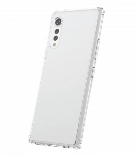 LG Velvet Clear Case - Jumpca1