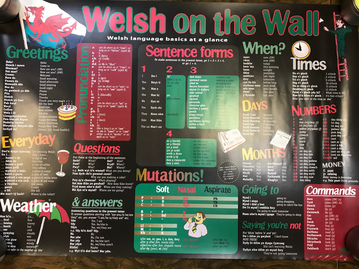 POSTER:  Welsh on the Wall