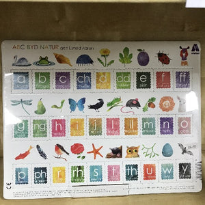 Jig-so: ABC Byd Natur - Alphabet Jigsaw