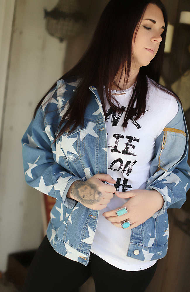 Oh My Stars Denim Jacket