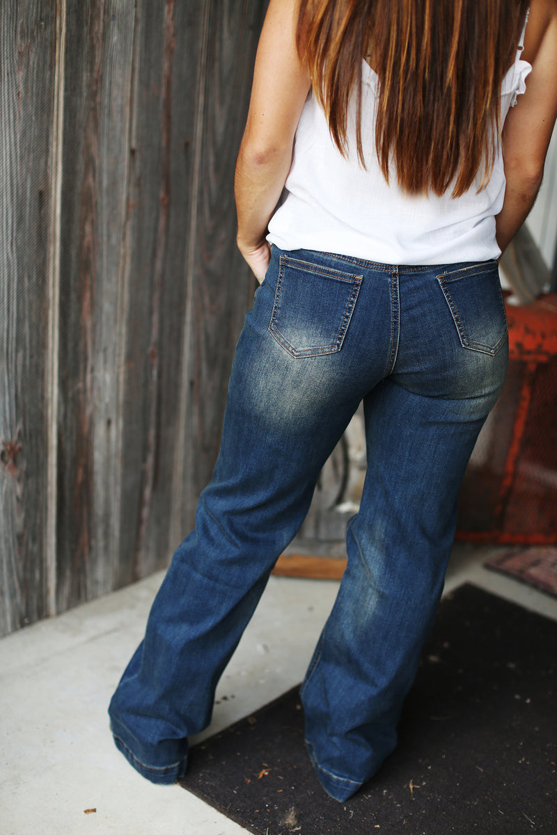 River Bootcut Jeans