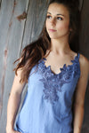 Blue Lace Cami