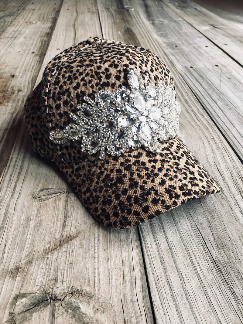 Cheetah Print Flashy Cap