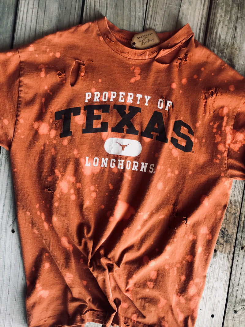 Distressed Texas Tee