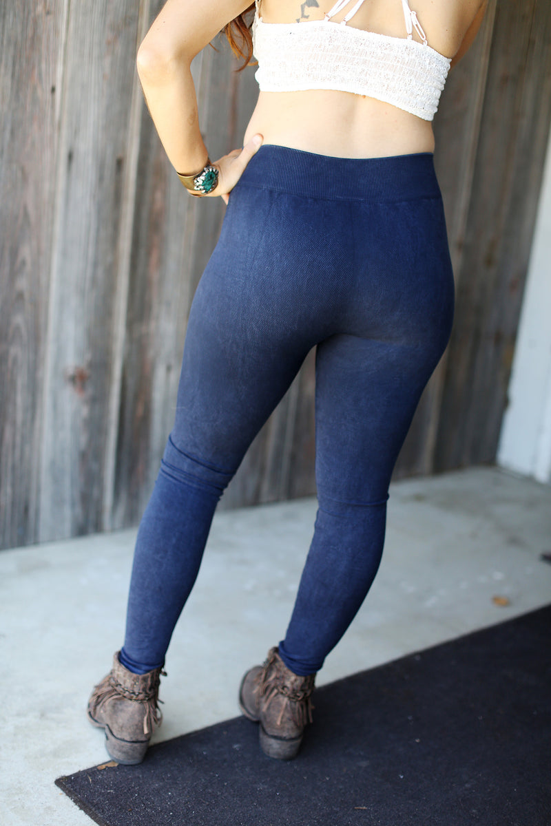 Vintage Ripped Jeggings