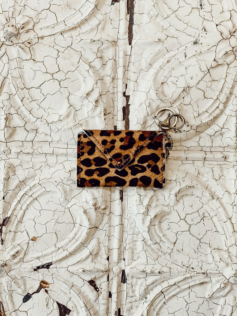 Leopard Credit Card Wallet