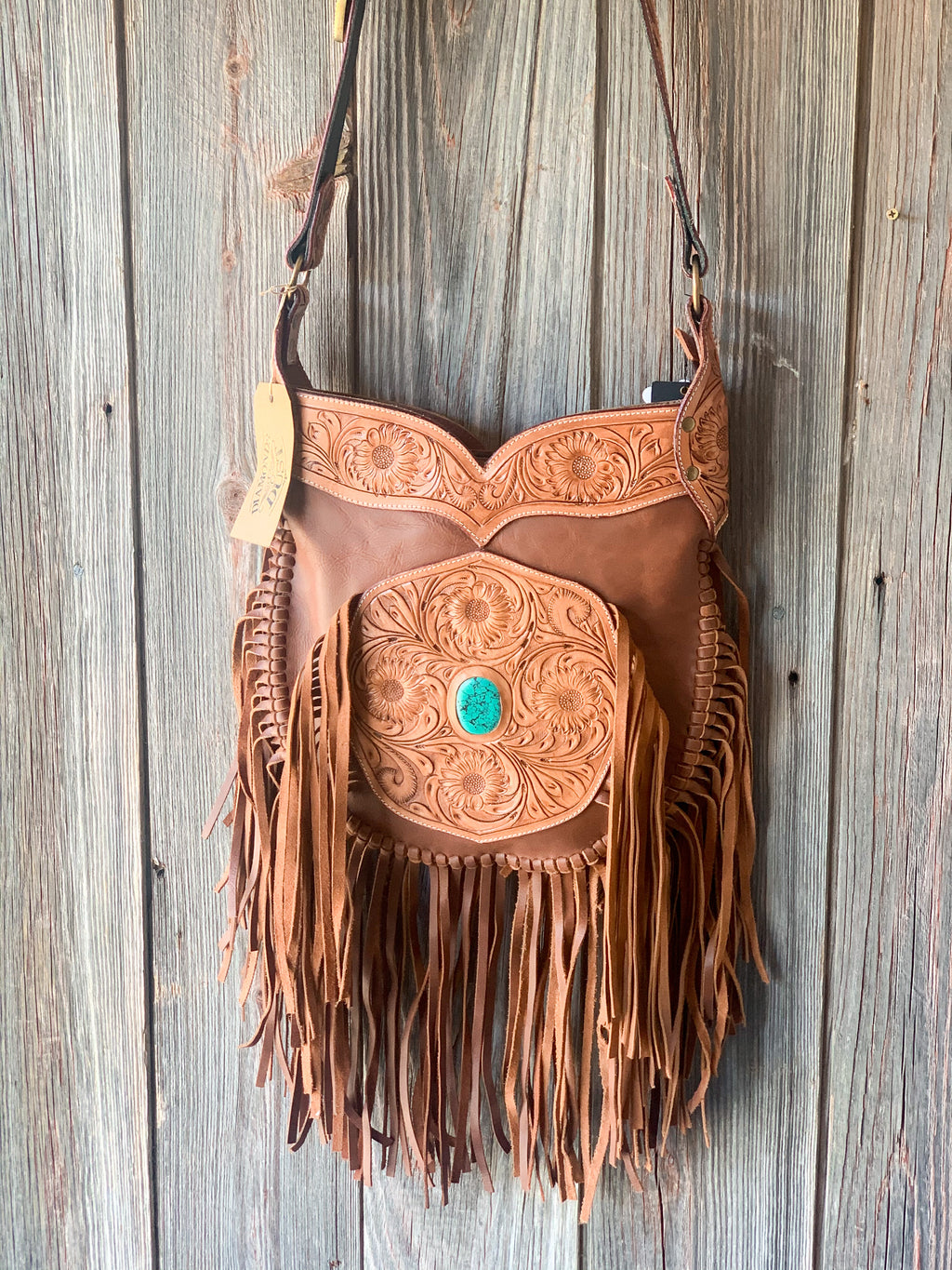 Wild West Saddlebag Purse