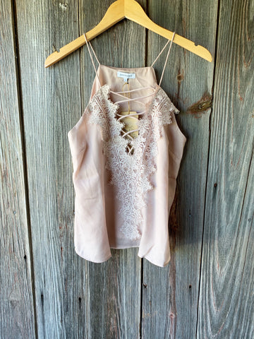 Seashell Tie Waist Top