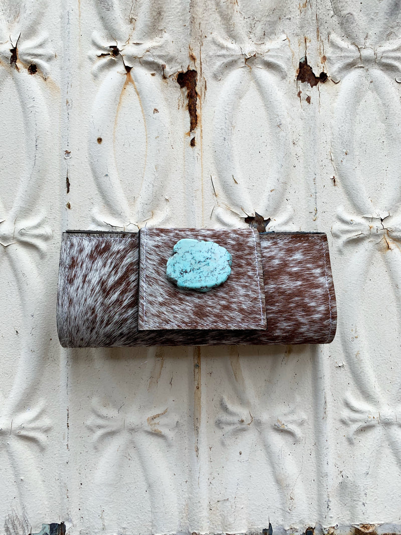 Hair on Hide Leather Wallets