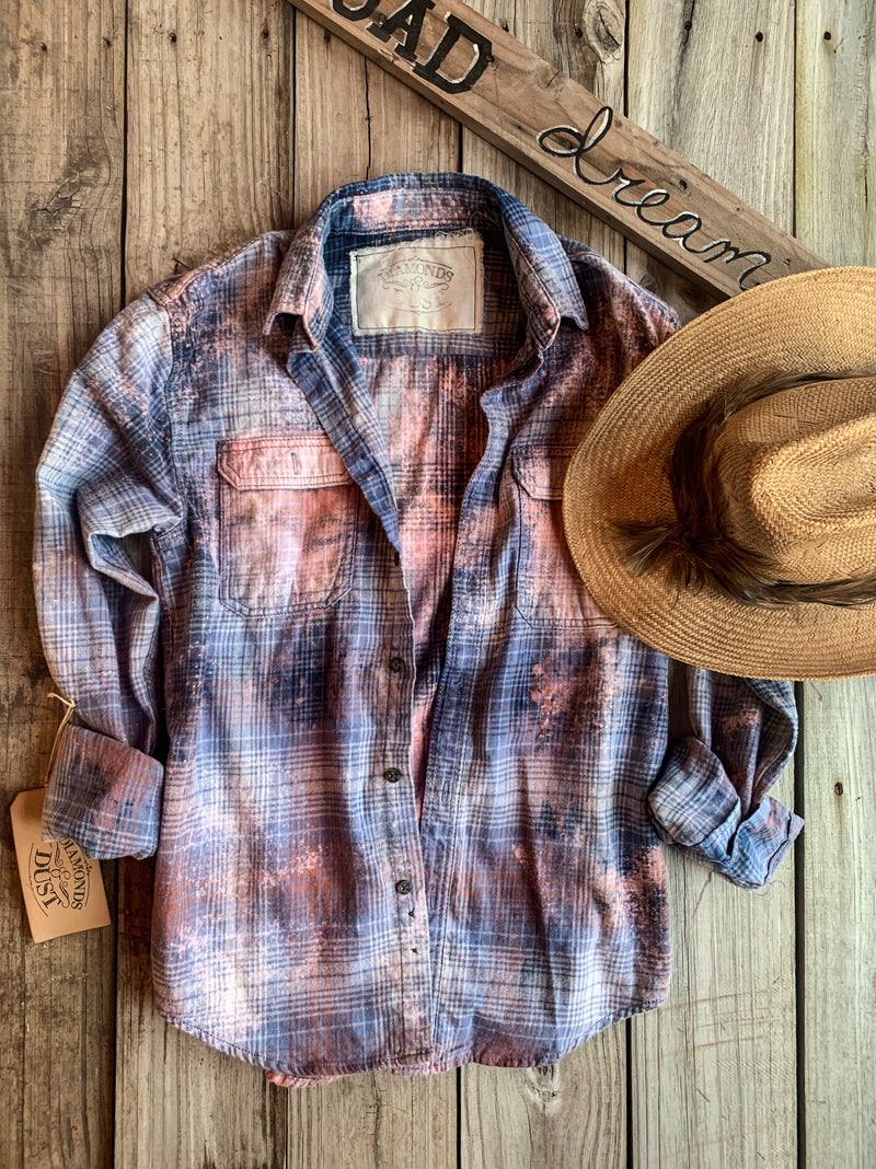 Farmers Daughter Grungy Flannel