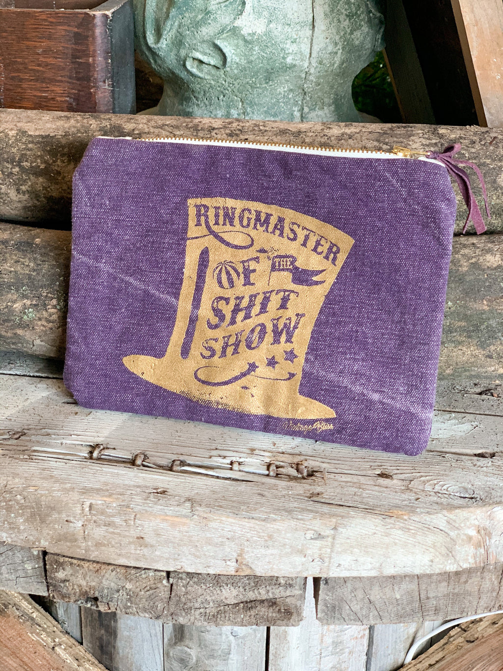Ringmaster Canvas Cosmetic Bag